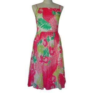 Lilly Pulitzer Port of Caw Pink Strap Sundress  8